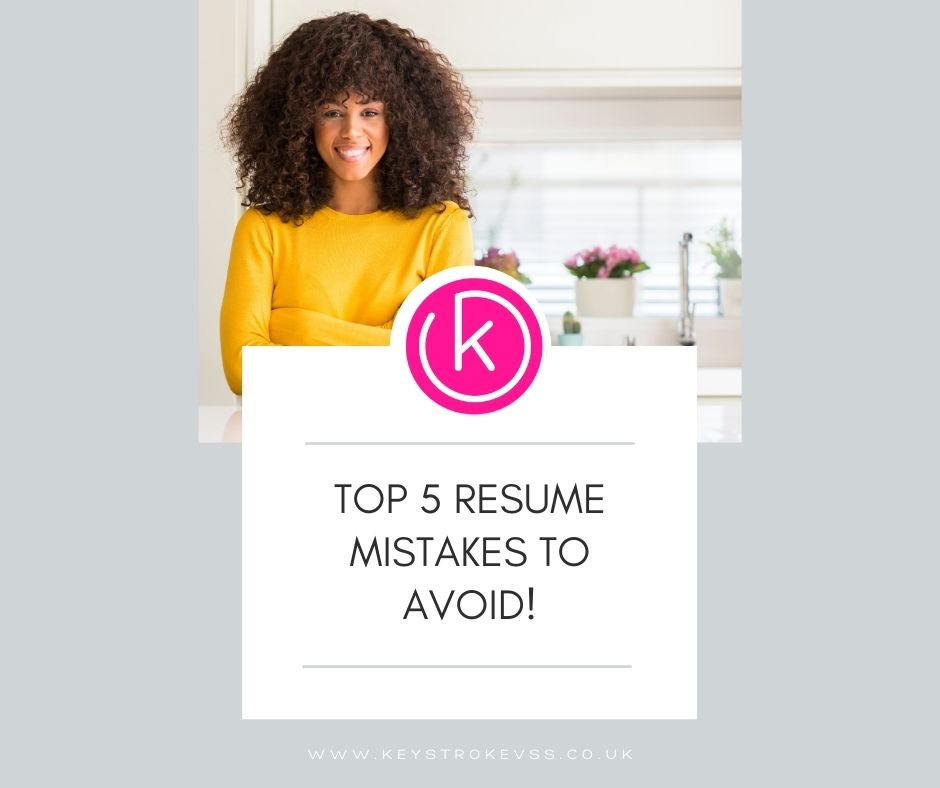 Copy of Copy of Pinterest - Top 5 Resume Mistakes to Avoid