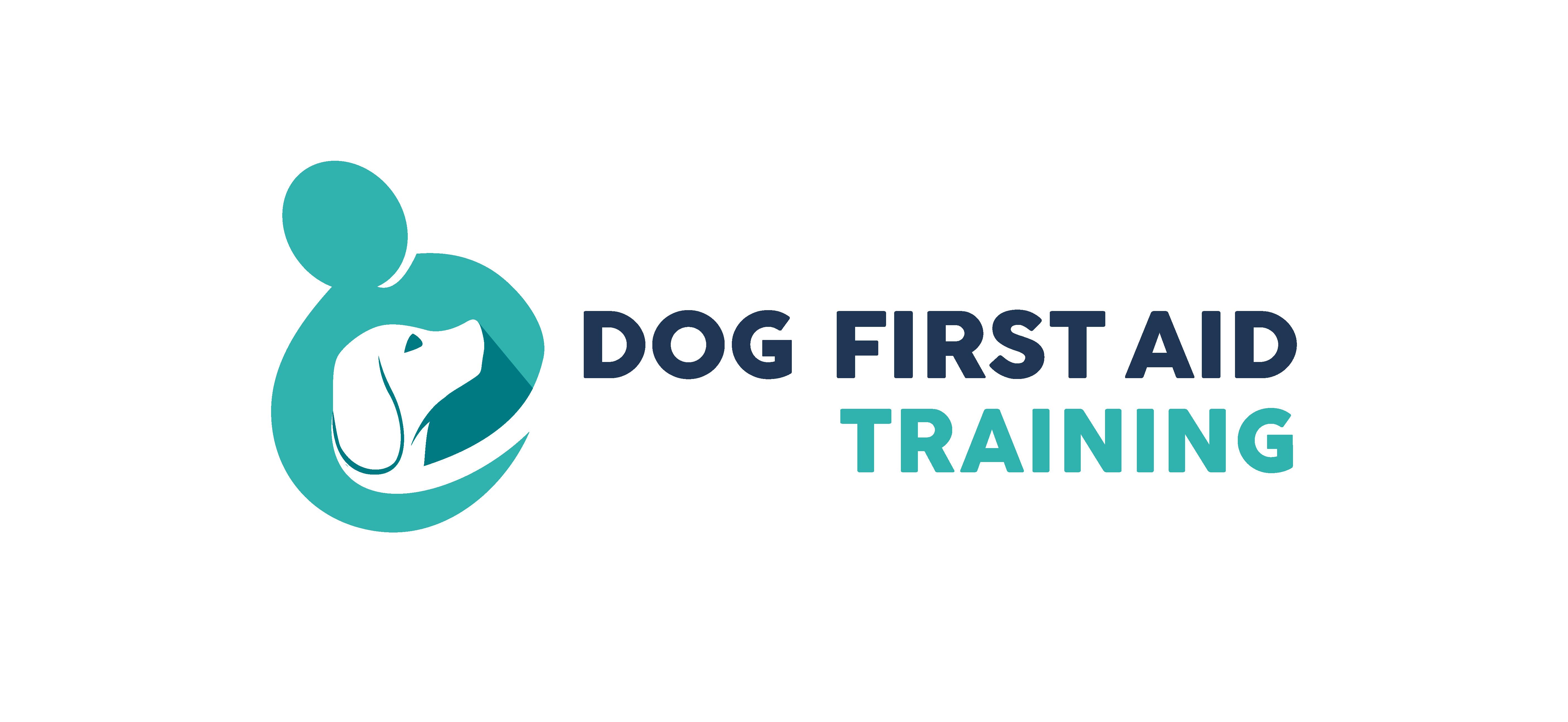 Dog First Aid Logos Horizontal